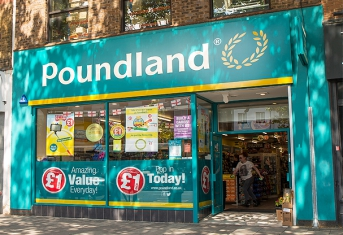 Poundland in Chiswick