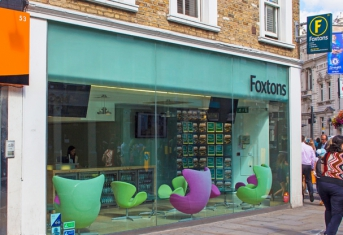 Foxtons in Fulham, London