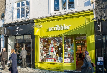 Scribbler in Kingston-upon-Thames