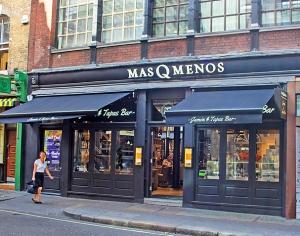 Mas Q Menos in Soho, London