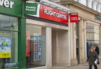 Sapcotes acquisition in Cheltenham, Flight Centre.